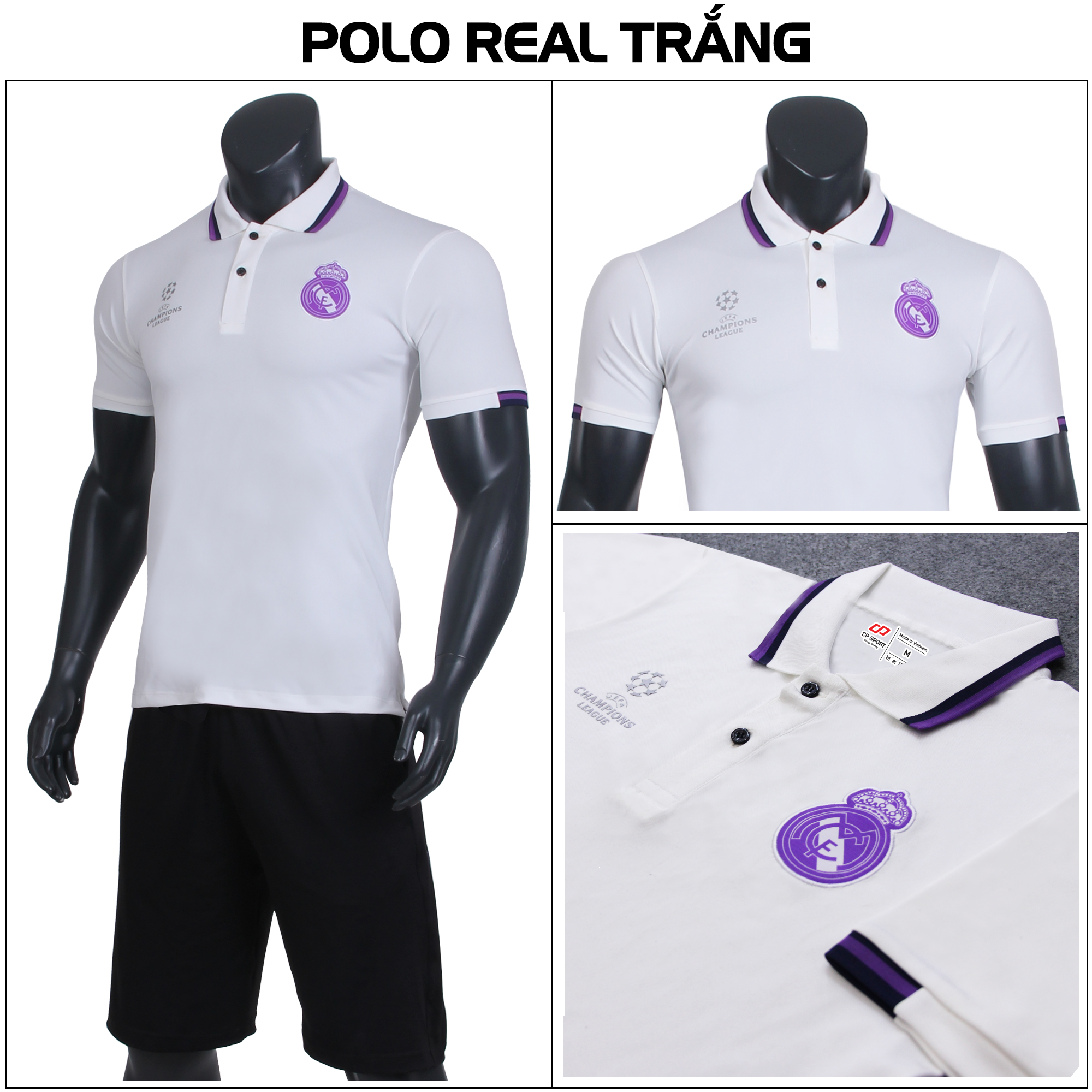 POLO REAL TRẮNG